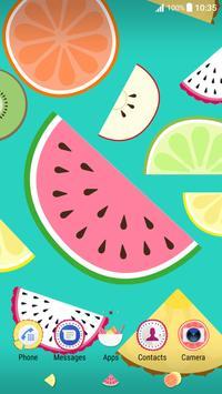 Xperia™ Fruit Salad Theme screenshot 1