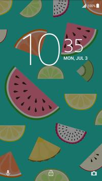 Xperia™ Fruit Salad Theme screenshot 2
