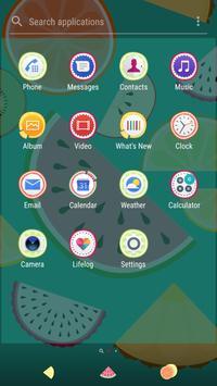 Xperia™ Fruit Salad Theme screenshot 4