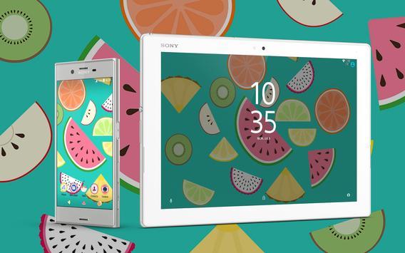 Xperia™ Fruit Salad Theme screenshot 5