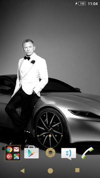 XPERIA™ James Bond Expo Paris poster