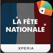 XPERIA™ La Fête Nationale Theme icon