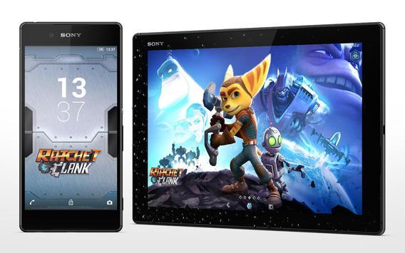 XPERIA™ Ratchet & Clank Theme apk screenshot