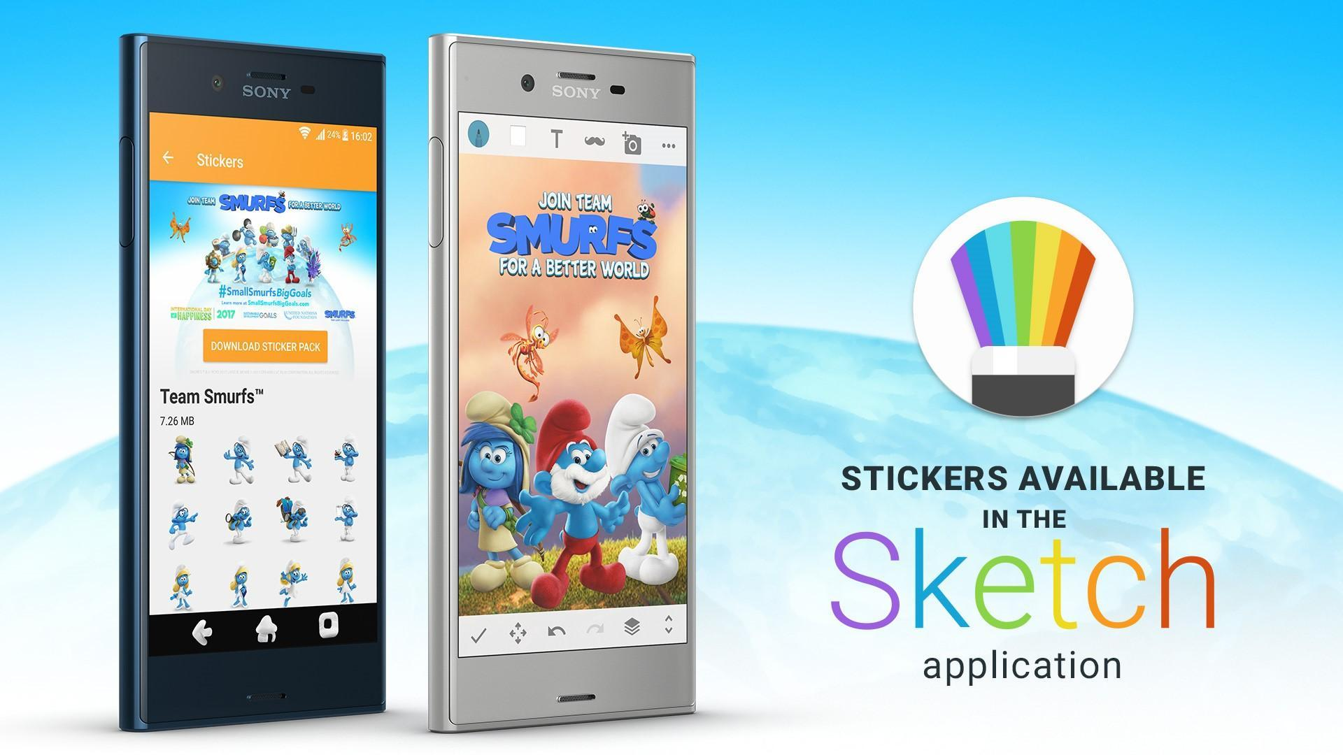 XPERIA™ Team Smurfs™ Theme for Android - APK Download