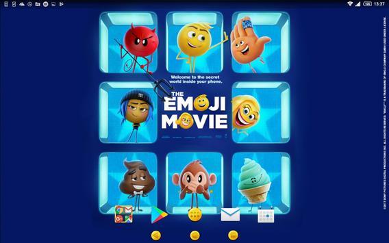 XPERIA™ The Emoji Movie Theme apk screenshot