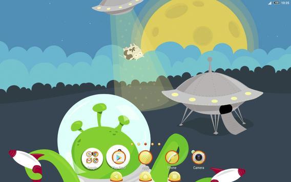 Xperia™ We Come in Peace Theme screenshot 6