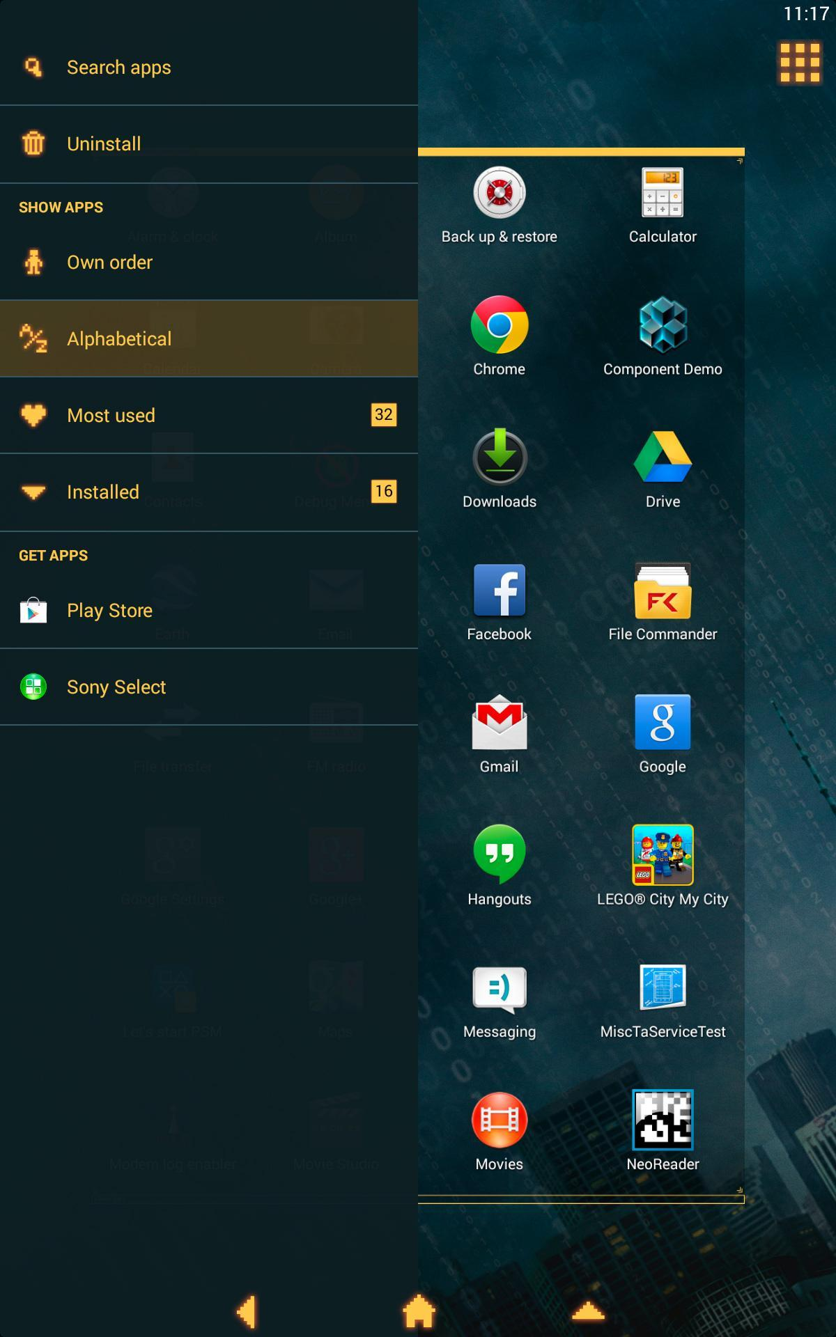 XPERIA™ Who Am I Theme for Android - APK Download