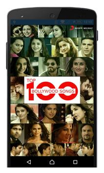 Top 100 Bollywood Songs poster