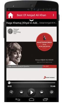 Best Of Amjad Ali Khan screenshot 5