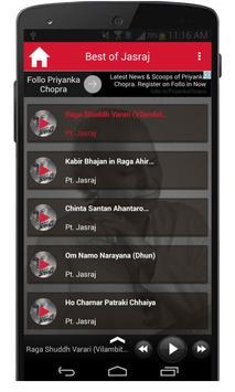 Best Of Pandit Jasraj Songs screenshot 1