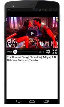 Ok Jaanu Hindi Movie Songs screenshot 3
