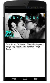 Ok Jaanu Hindi Movie Songs screenshot 4