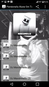 Marshmello Alone Om Telolet Om poster