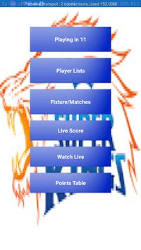 CSK Playing in 11 Players and Fixture/Matches poster