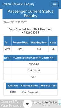 PNR Status screenshot 2