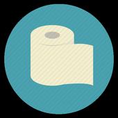 No phone on toilet Simulator icon