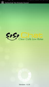SoSoChat poster