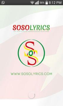 Sosolyrics poster