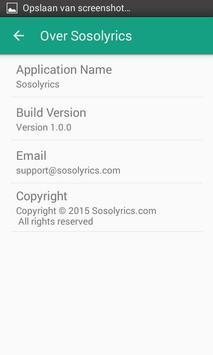 Sosolyrics screenshot 11