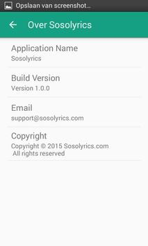 Sosolyrics screenshot 5