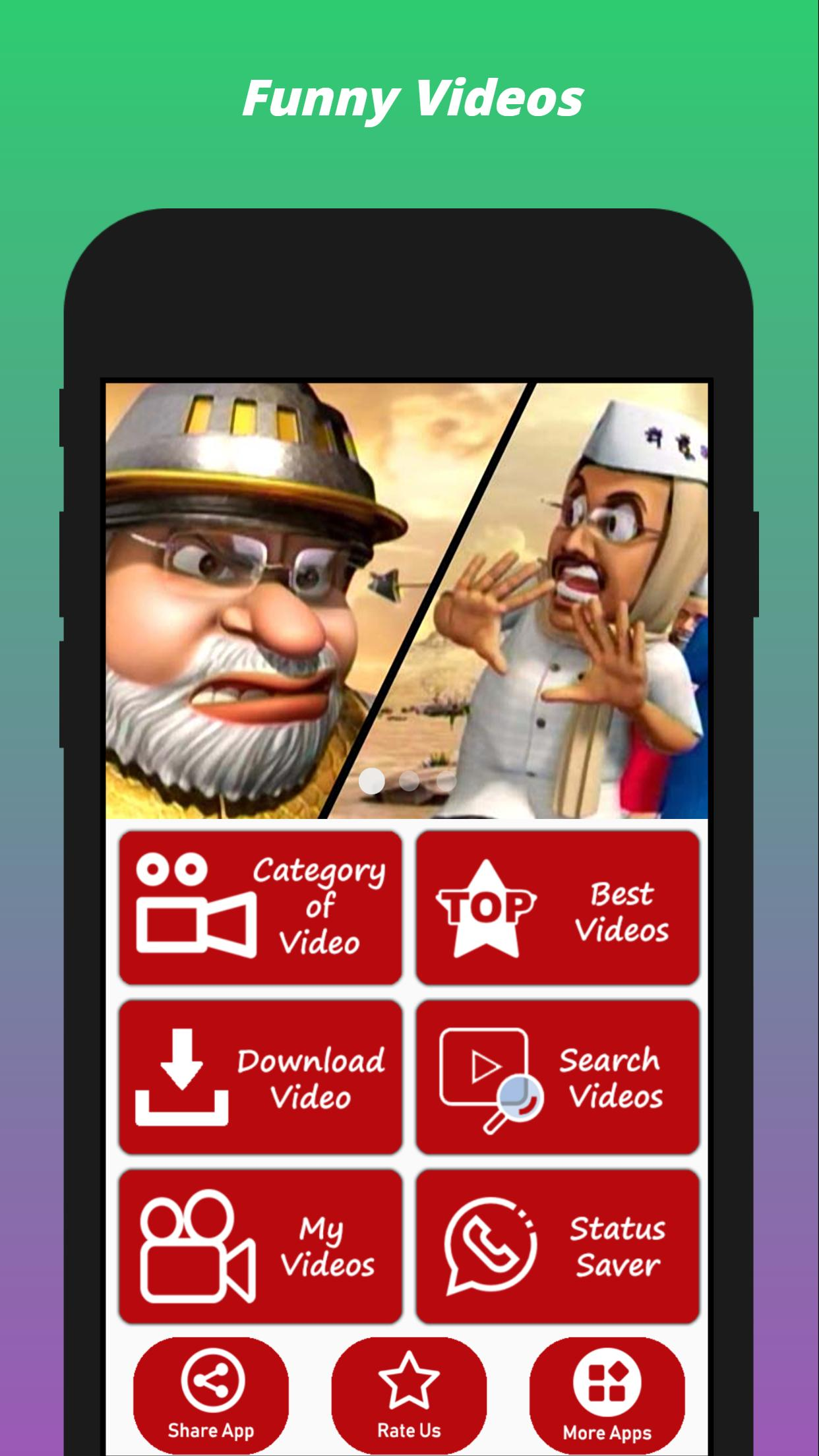 4 funny video app download