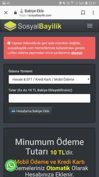 Sosyal Bayilik screenshot 3