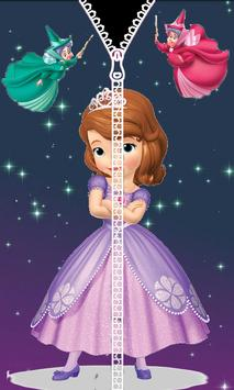 Princess Of Sophia ZipperLockScreen poster