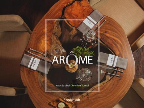 Restaurant Arôme apk screenshot