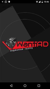 WantAD AR poster