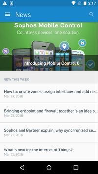 Sophos Partners App poster