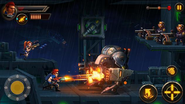 Metal Squad: Shooting Game Cartaz