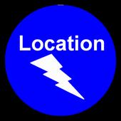 SF Text Location icon