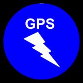 SF Text GPS icon