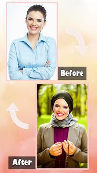 Hijab Fashion Suit Photo poster
