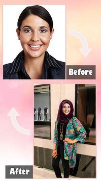 Hijab Fashion Suit Photo apk screenshot