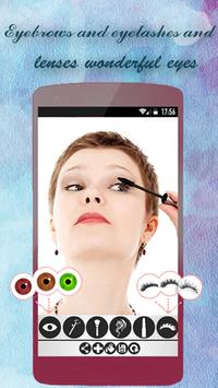 MakeUp Face . Cosmetic Camera poster