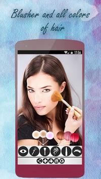 MakeUp Face . Cosmetic Camera apk screenshot