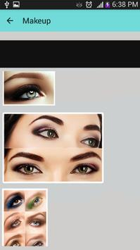 Makeup Eye - Cosmetic Eyes screenshot 13