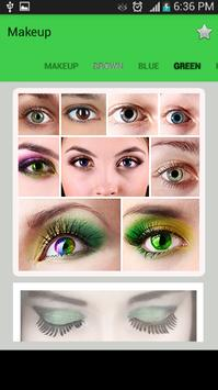 Makeup Eye - Cosmetic Eyes screenshot 1