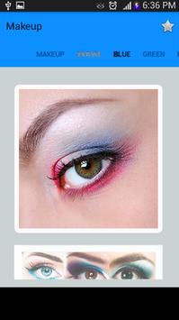 Makeup Eye - Cosmetic Eyes screenshot 2