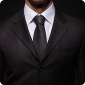 Stylish Man Suit Photo Cam icon