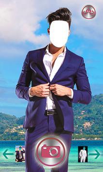 Stylish Man Suit Photo Cam apk screenshot