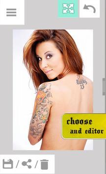 Tattoo My Photo Editor apk screenshot
