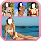 Women Bikini montage Suit ♥ icon