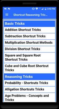 Shortcut Reasoning Tricks screenshot 4