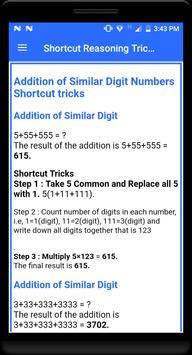 Shortcut Reasoning Tricks screenshot 1