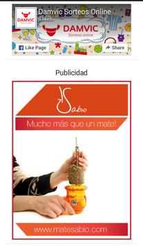 DAMVIC Sorteos Online screenshot 3