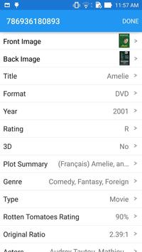 Movie Manager Collector 4K Blu-ray DVD UPC Library imagem de tela 5