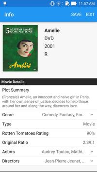 Movie Manager Collector 4K Blu-ray DVD UPC Library imagem de tela 3