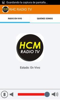 HCM Radio TV captura de pantalla 2